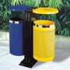 Thùng phân loại rác thải ngoài trời hai ngăn