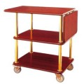 Xe đẩy phục vụ bàn bằng gỗ giá rẻ