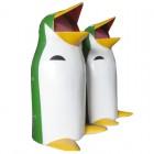 Thùng rác chim cánh cụt composite 70L
