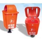 Thùng đựng rác nhựa công cộng FTR 005